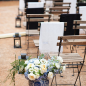 Blue and White Wedding Decor Ideas