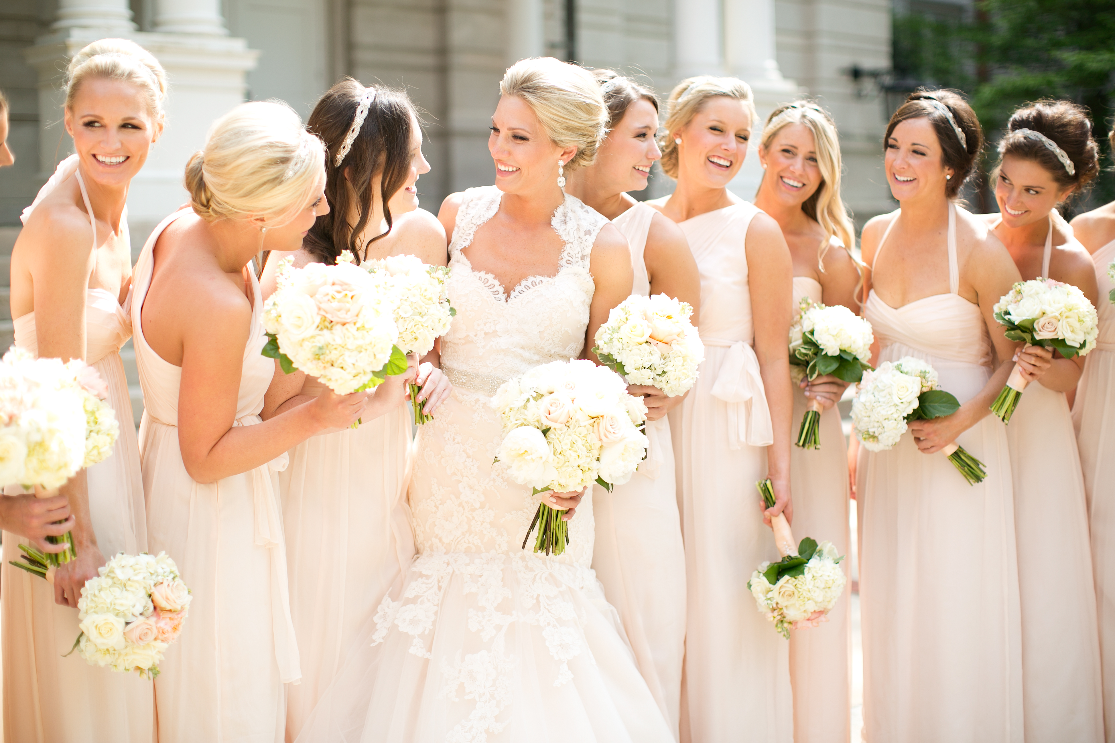 Champagne Bridesmaid Dress What Color Shoes