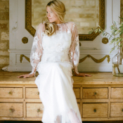 Bridal Gown with Sleeves