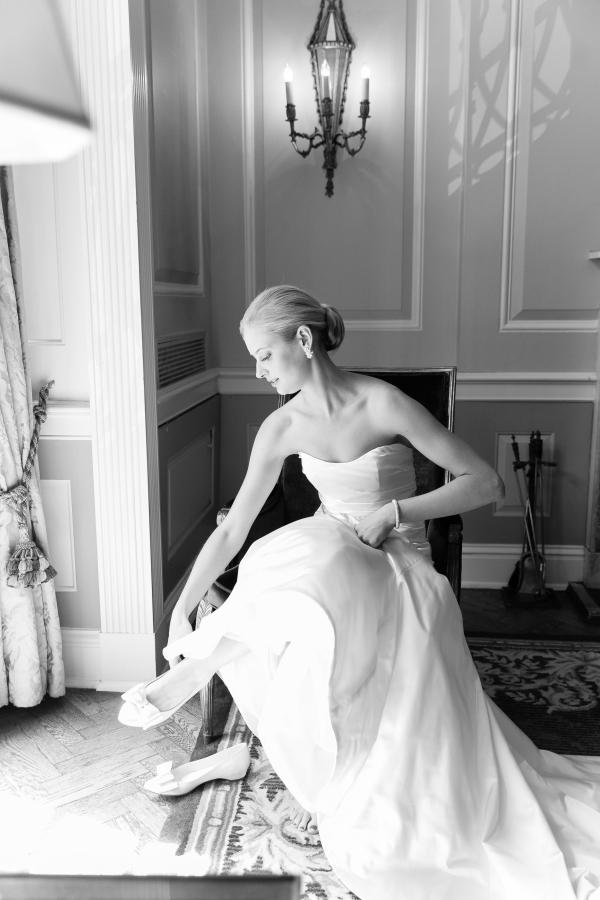 Bride at the Drake Hotel