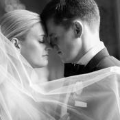 Bride in Elegant Veil