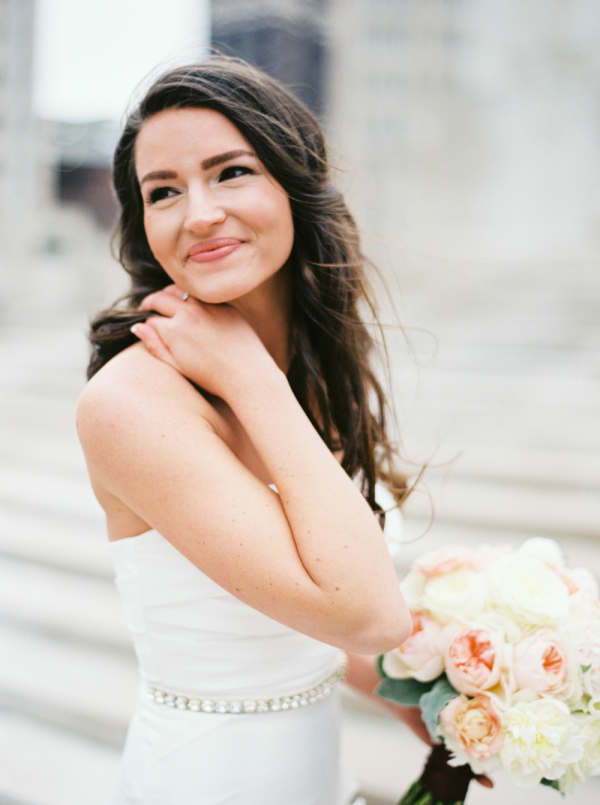 Bride with Flowing Hair1