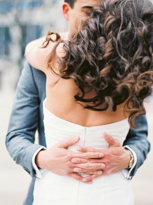 Bride with Romantic Curls