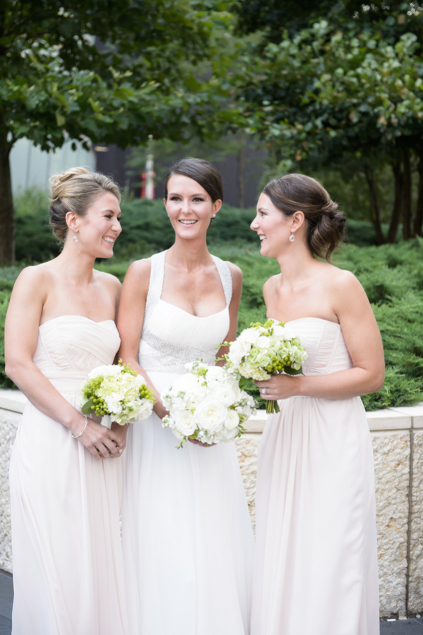 Bridesmaids in Pale Pink1