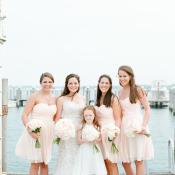 Bridesmaids in Sandals