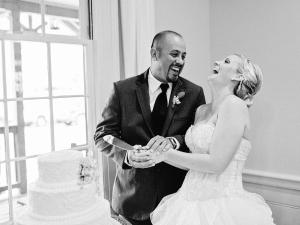 Cake Cutting Georgia Wedding