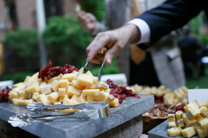 Cheese Station at Wedding