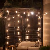 Chic Wedding Lounge Area