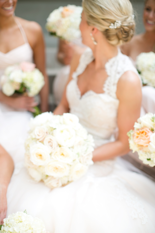 Classic Ivory And Blush Bridal Bouquet
