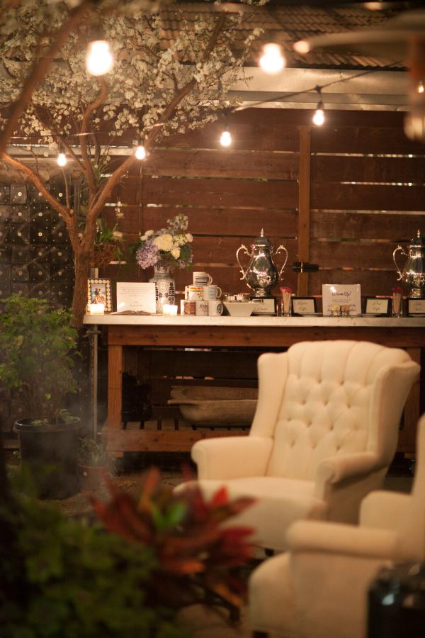 Coffee Bar At Wedding Reception Elizabeth Anne Designs The