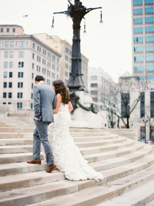 Downtown Indianapolis Wedding