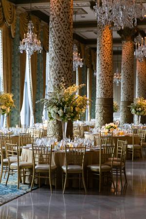 Drake Hotel Ballroom Wedding