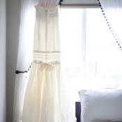 Drop Waist Couture Bridal Gown