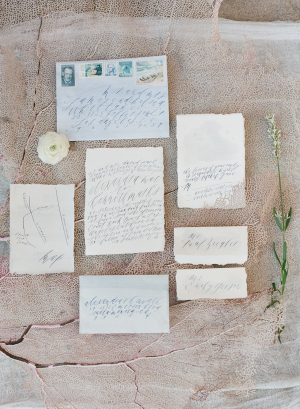 Elegant Beach Wedding Invitations
