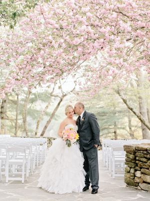 Georgia Wedding with Cherry Blossoms