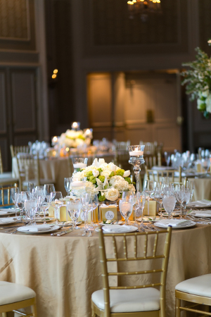 Gold Wedding Linens