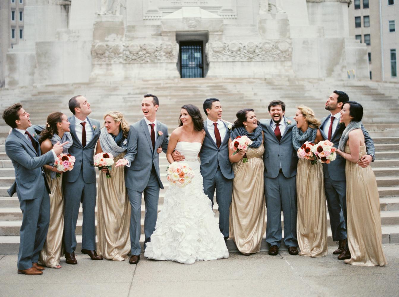 Golden Colour Wedding Gowns: Elizabeth Anne Designs: The