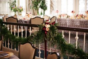 Greenery Garland at Wedding