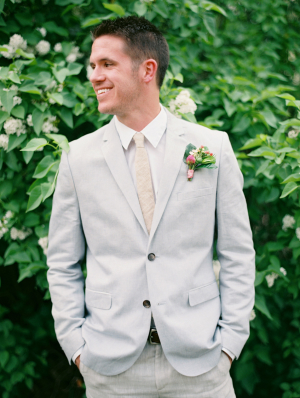 Groom in Light Blue