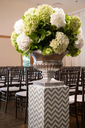 Hydrangea Ceremony Flowers