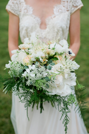 Ivory Greenery Bouquet