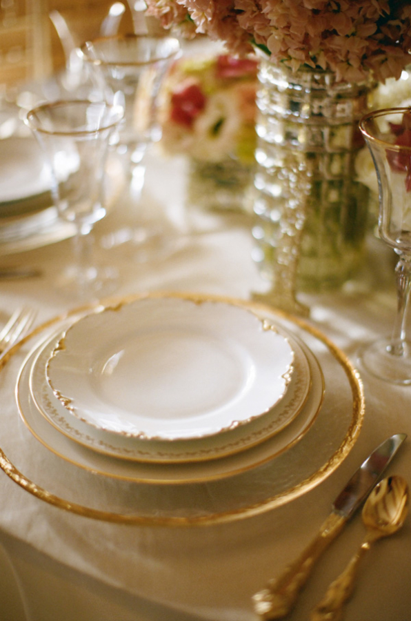 Ivory and Gold China