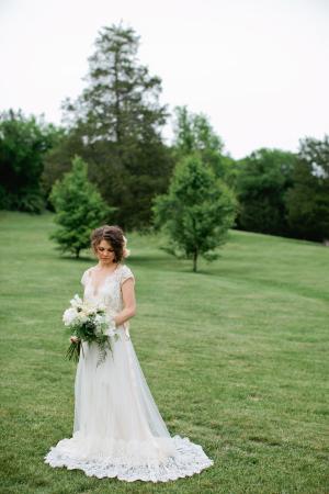 Lace Claire Pettibone Gown