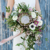 Lush Southwestern Inspired Bouquet