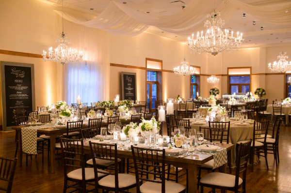 Modern Chicago Wedding Ivy Room