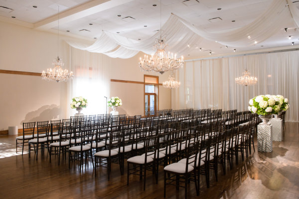 Modern Elegant Chicago Wedding Ceremony