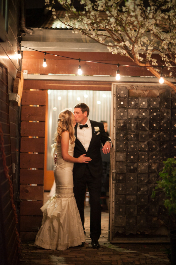 Modern San Francisco Cafe Wedding