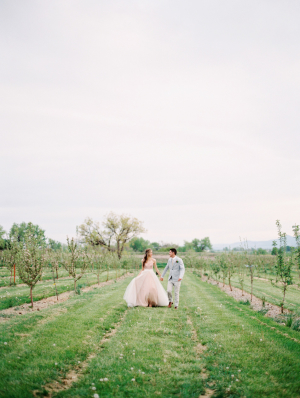 Orchard Wedding Location