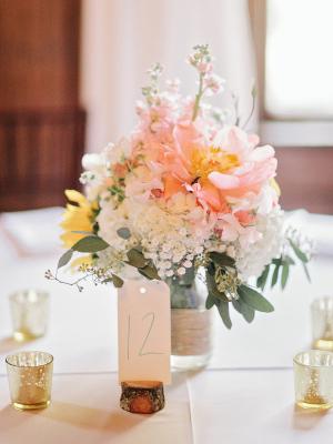 Pastel Wedding Centerpiece