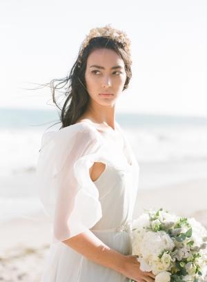 Romantic Beach Bride