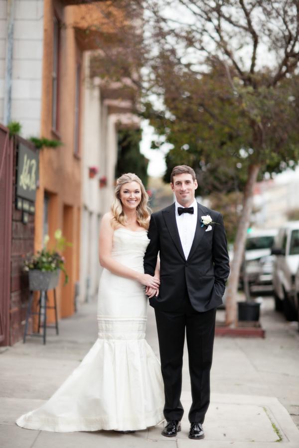 San Francisco Cafe Wedding