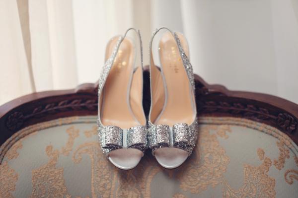 Silver Kate Spade Charm