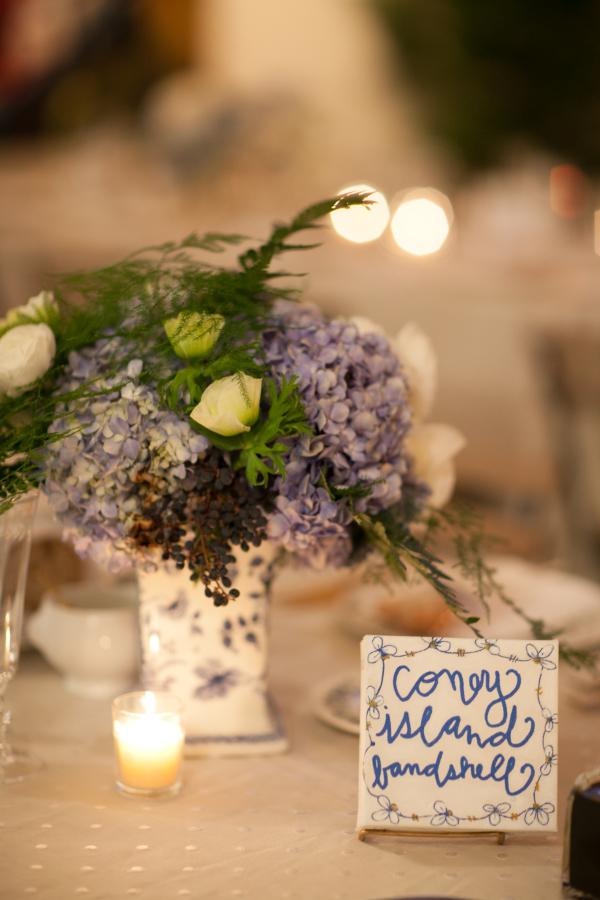 Tile Wedding Table Names