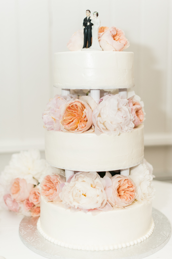 Vintage Inspired Tiered Cake