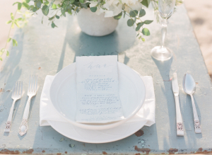 Watercolor Inspired Wedding Ideas