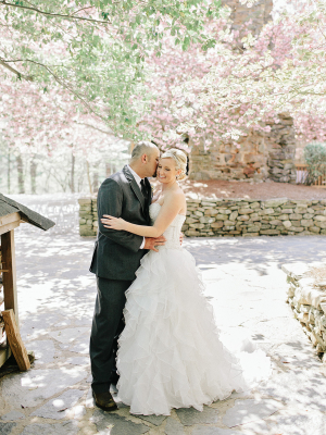 Wedding Photos with Cherry Blossoms