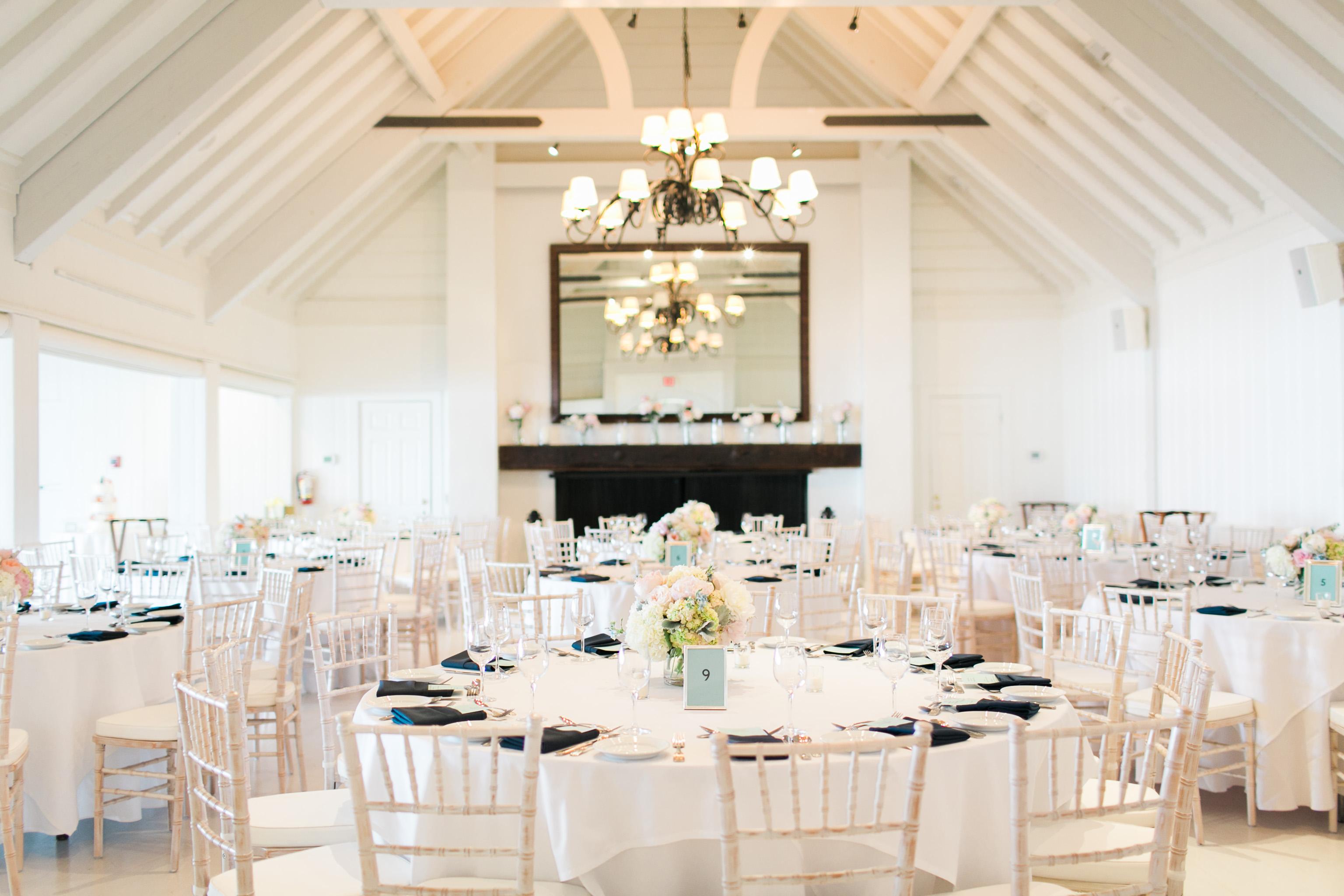 White Yacht Club Wedding