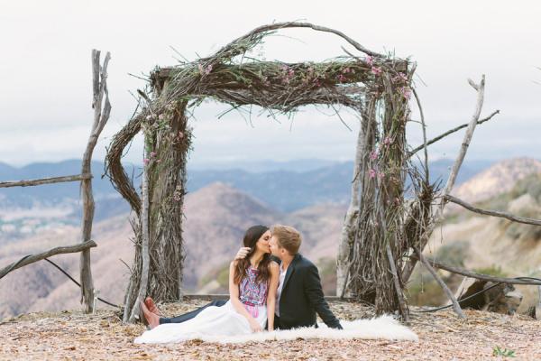 Whimsical Malibu Engagement