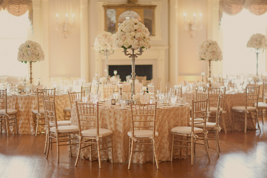 Blush And Gold Reception Decor Ideas Elizabeth Anne Designs The