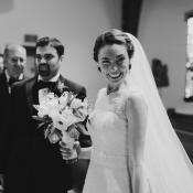 Bride in Church Wedding