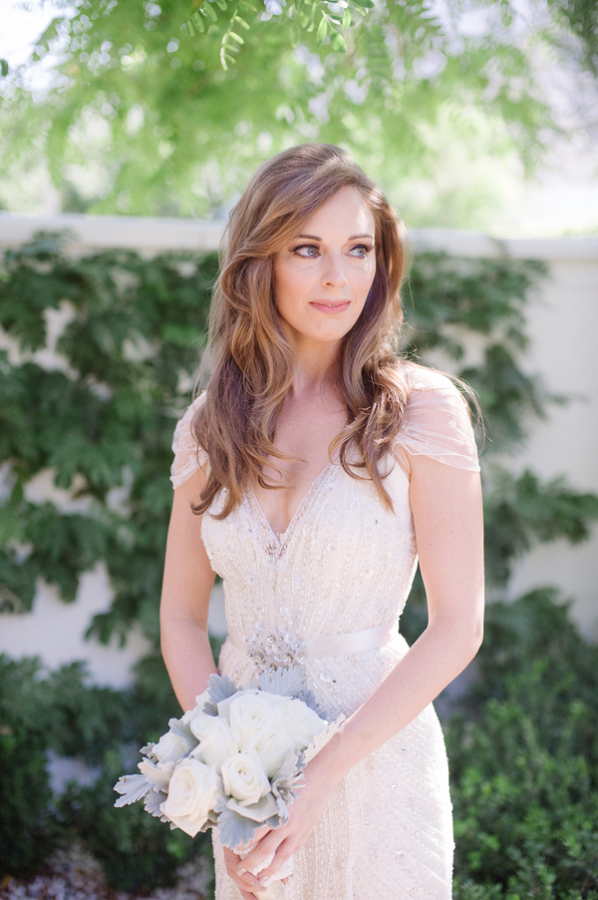 Bride in Jenny Packham Gown 2