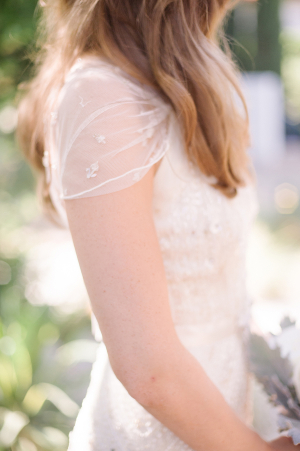 Bride in Jenny Packham Gown 4