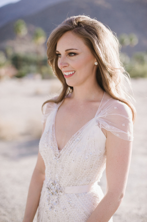Bride in Jenny Packham Gown 6