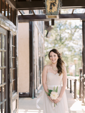 Bridesmaid in Pale Champagne