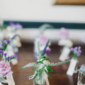 Bud Vase Escort Cards