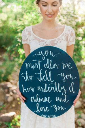 Calligraphy Wedding Details